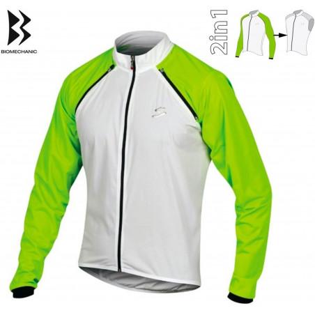 Men's skiing jacket SANFORD sulphur spring/citronelle